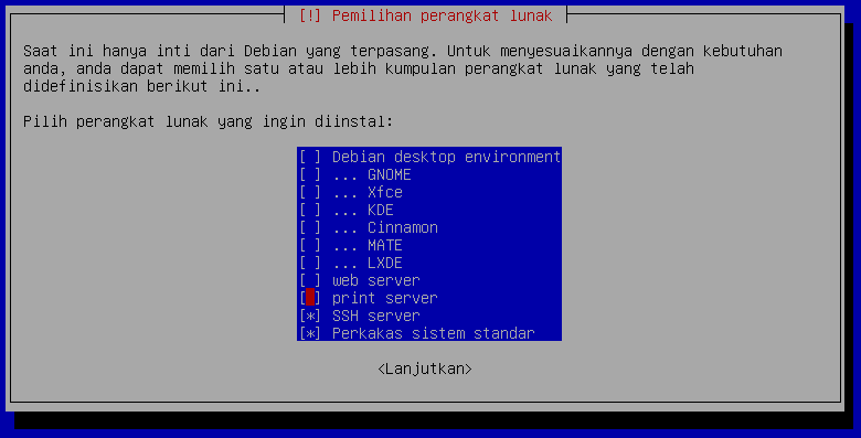 Cara Install Debian 9 (Stretch) dengan Pemartisian Manual